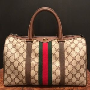 Gucci Anniversary Collection Authentic Boston Bag